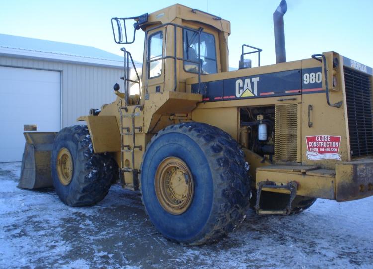 Cat 980C 63X09813