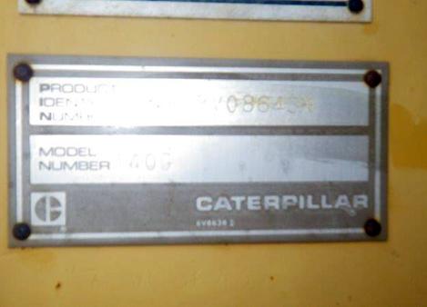 Cat 140G 72V08643