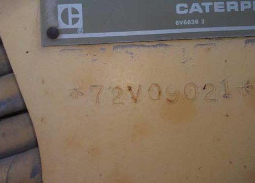 Cat 140G 72V09021
