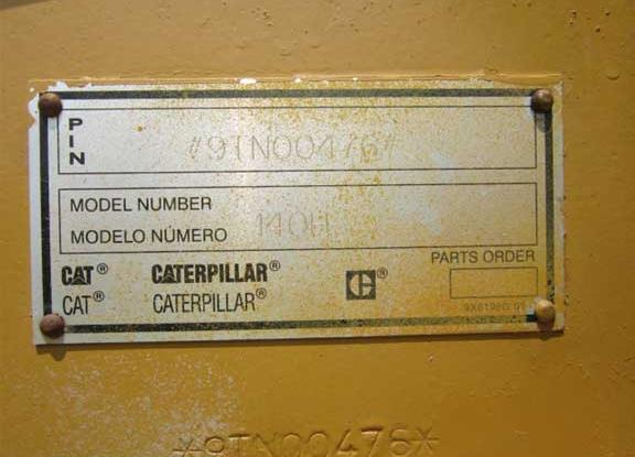 Caterpillar 140H 09TN00476