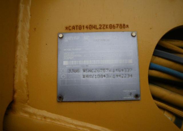 Cat 140H 2ZK06788