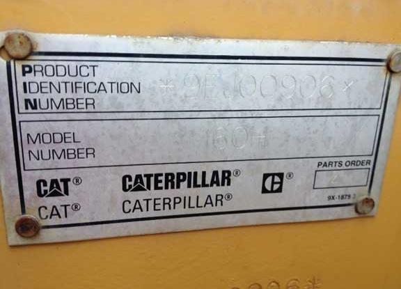 Cat 160H 9EJ00906