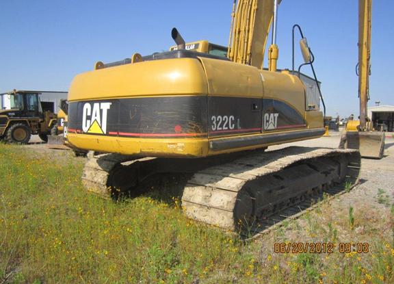 Cat 322CL HEKOO536