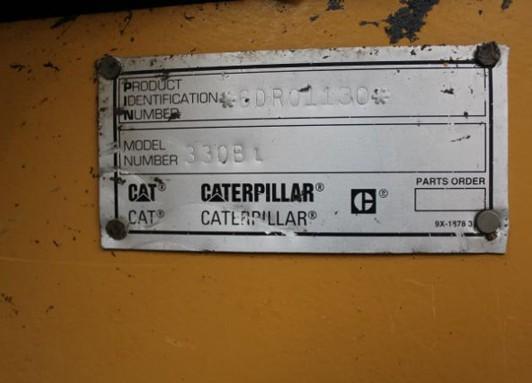 Cat 330BL 6DR01130