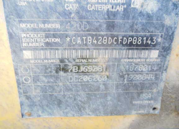 Caterpillar 420D FDP08143