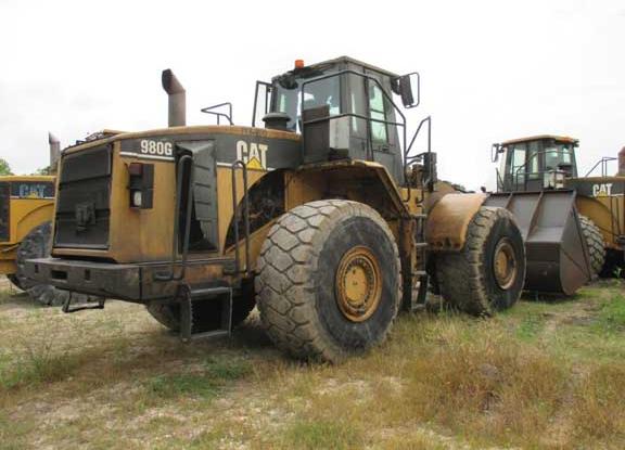 Cat 980G 2KR03536