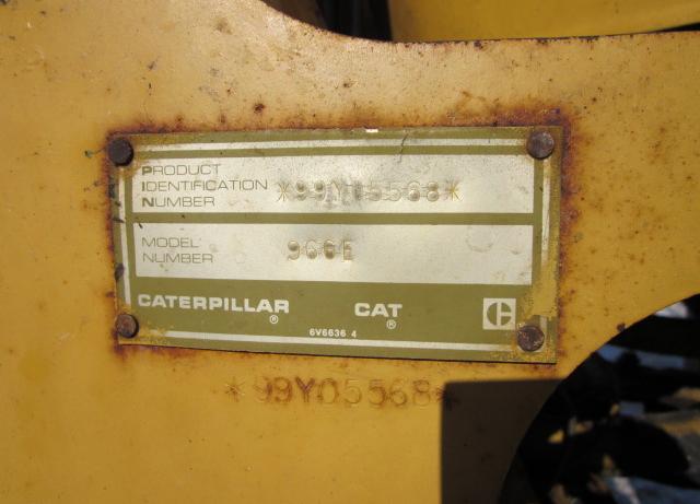 Cat 966E 99Y05568