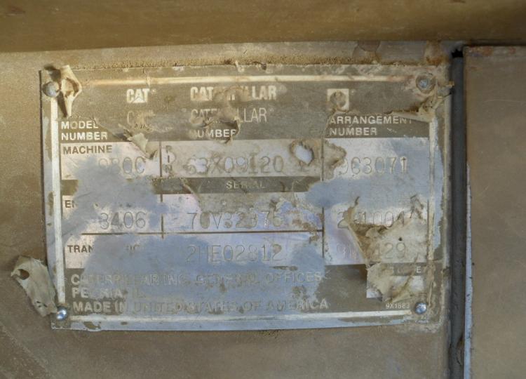 Cat 980C 63X9120