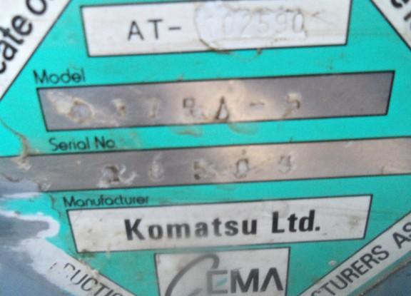 Komatsu D375-5 18565