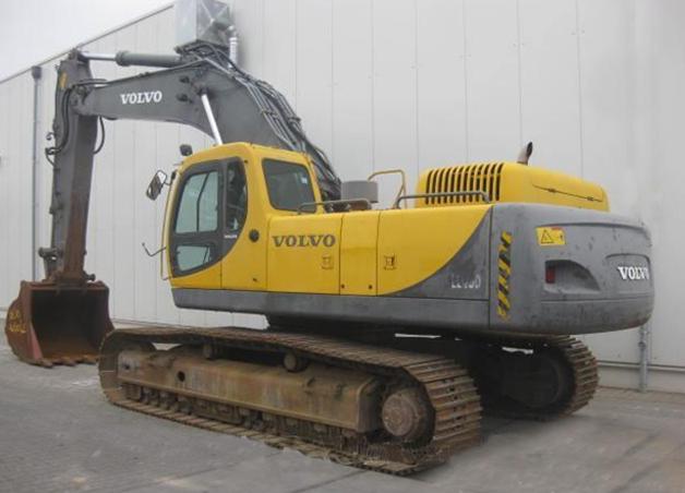 Volvo EC460LC 03255