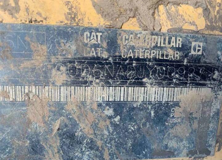 Caterpillar D6N LGP DJY00927