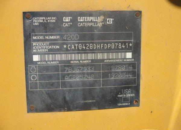 Caterpillar 420D 0FDP07841