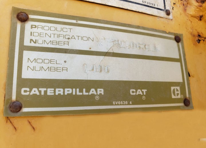 Caterpillar 140G 72V10631