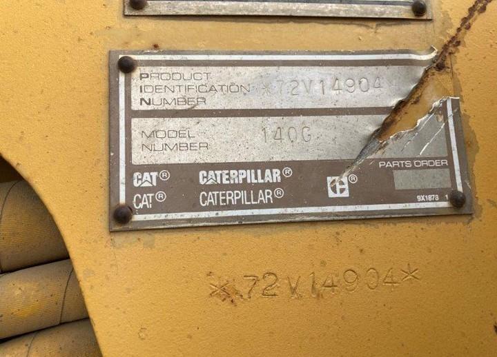 Caterpillar 140G 72V14904