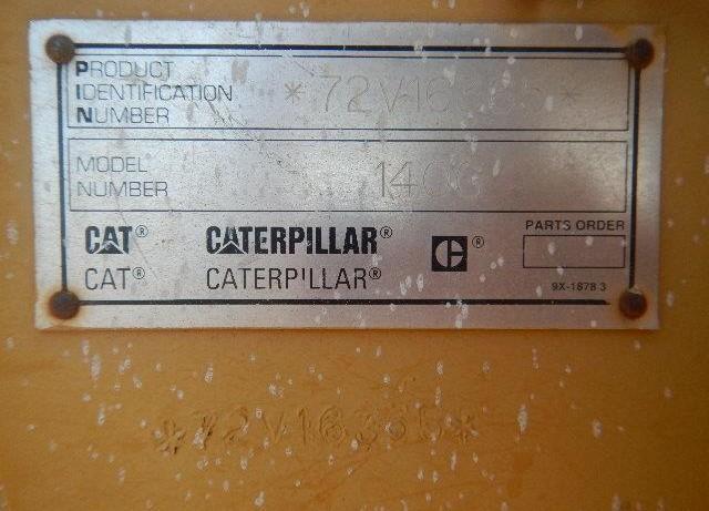 Caterpillar 140G 72V16365