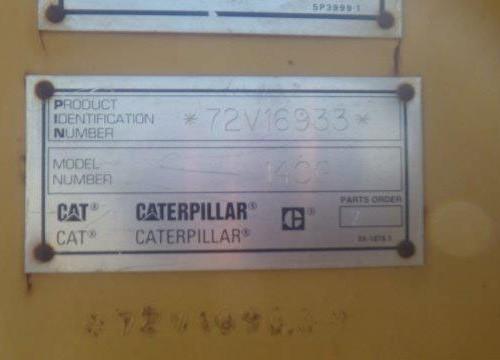 Caterpillar 140G 72V16933