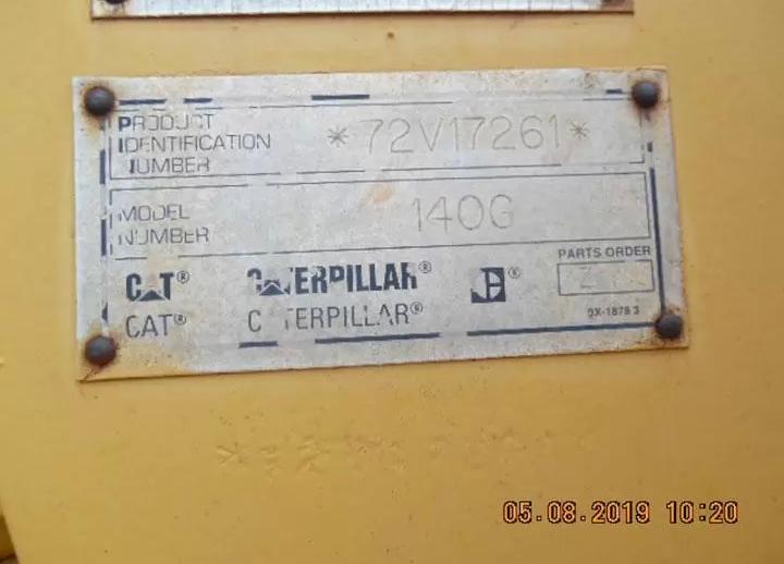 Caterpillar 140G 72V17261