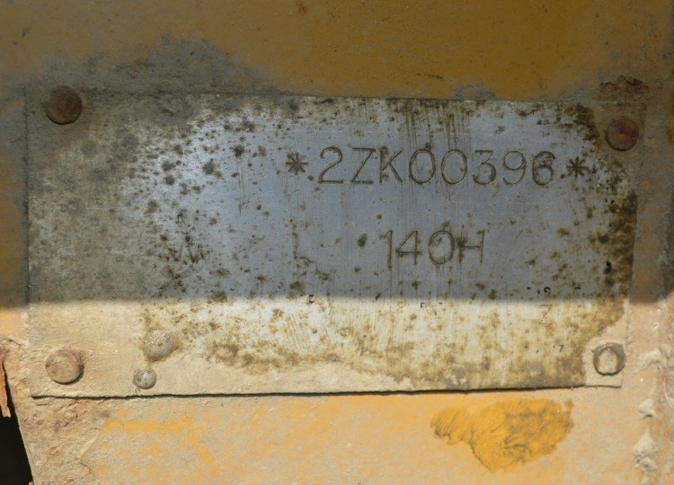 Caterpillar 140H 2ZK00396