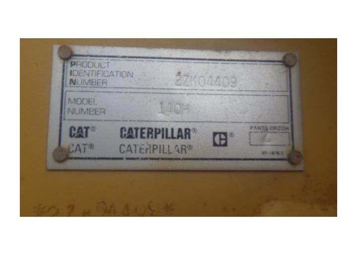 Caterpillar 140H 2ZK04409