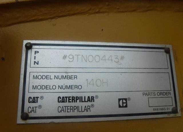 Caterpillar 140H 9TN0443