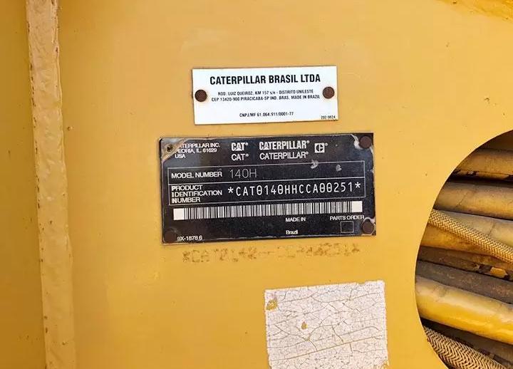 Caterpillar 140H CCA00251