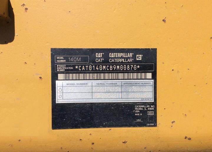 Caterpillar 140M B9M00870