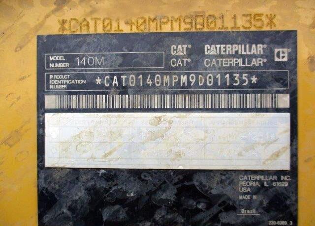 Caterpillar 140M2 M9D01135