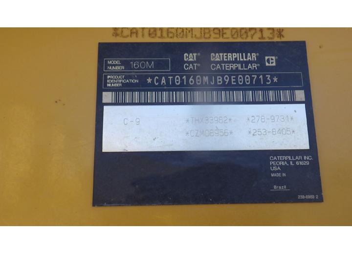 Caterpillar 160M B9E00713