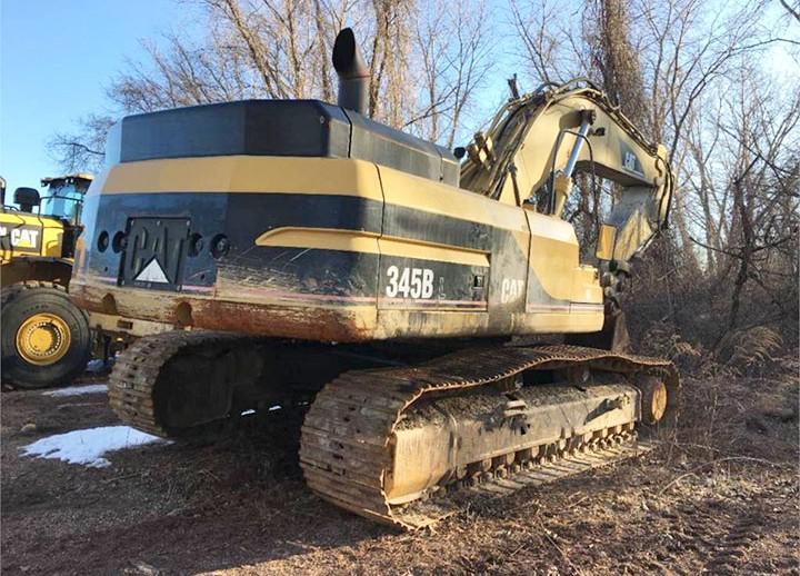Caterpillar 345BIIL AGS02021