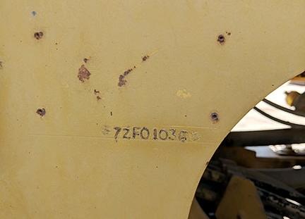 Caterpillar 950F 07ZF01036