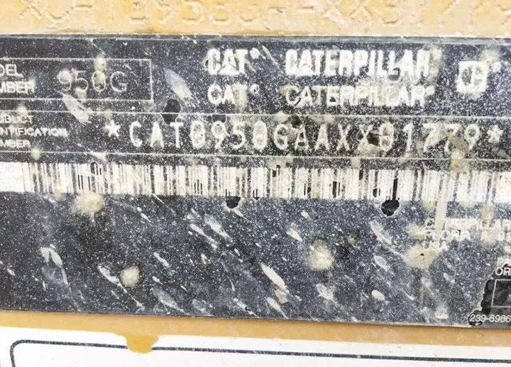 Caterpillar 950G AXX01779