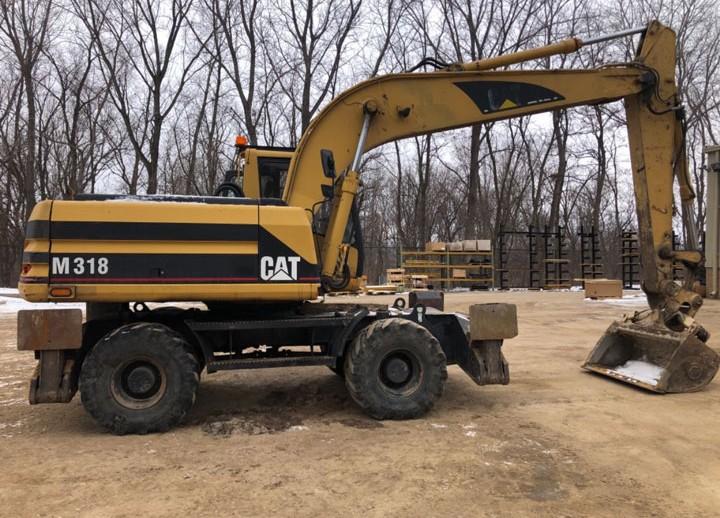 Caterpillar M318 8AL03153