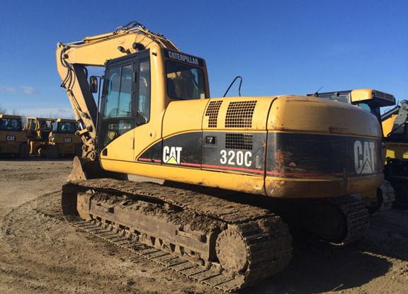 Cat 320CL PAB01110