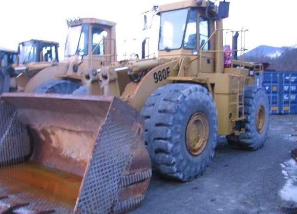 Cat 980F 8CJ00483