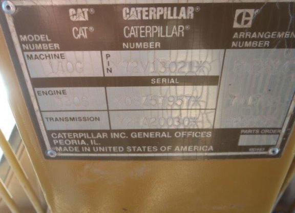 Cat 140G 72V013021
