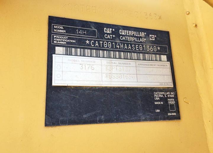 Caterpillar 14H ASE1360