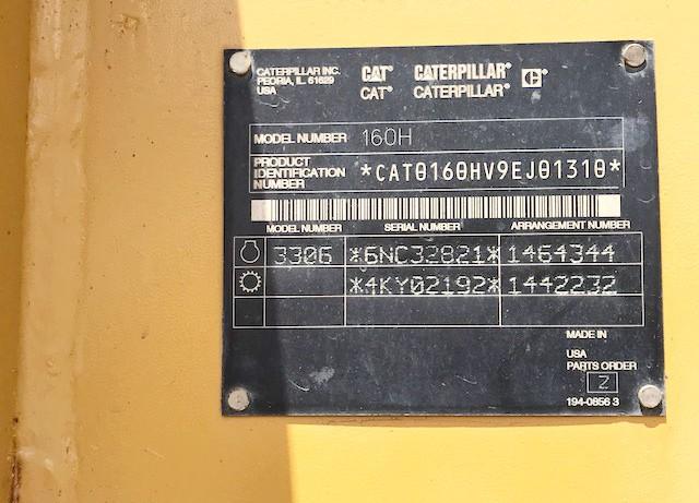 CAT 160H 9EJ01310
