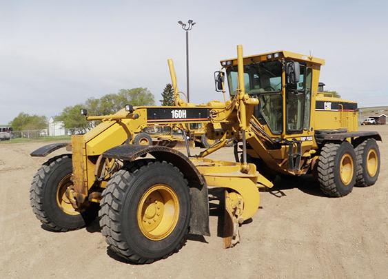 Caterpillar 160H ASD00806
