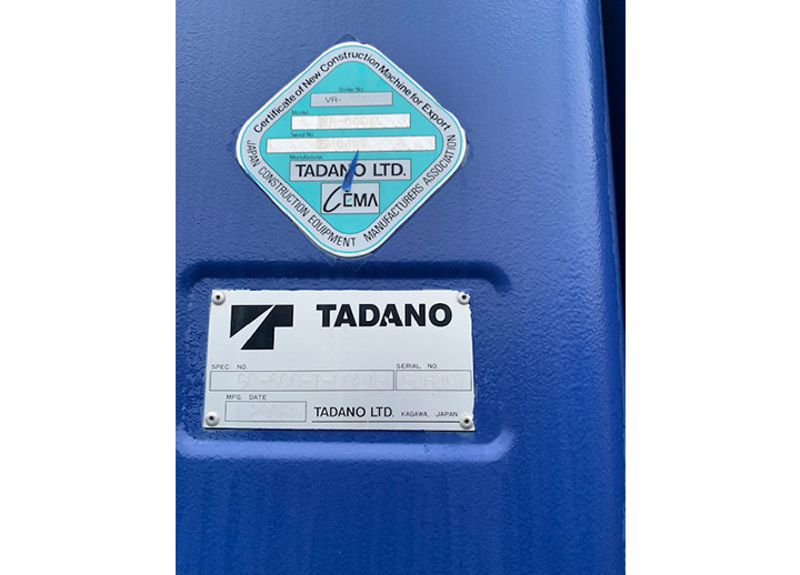 Tadano GR-600XL-I XXX
