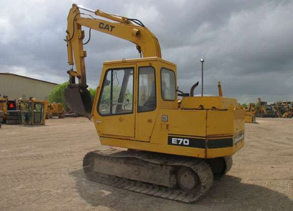 Cat E70B 7YF06120