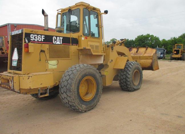 Cat 936F 8AJ01453