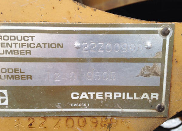 Cat 950B 22Z00989