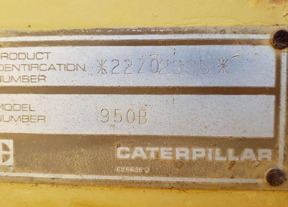 Caterpillar 950B 22Z02335
