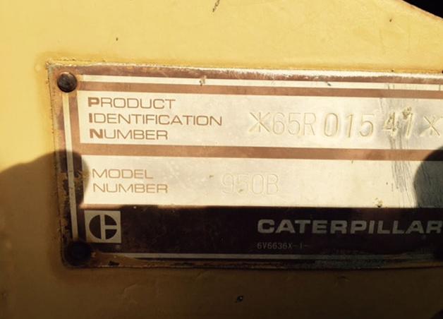 Cat 950B 65R01541